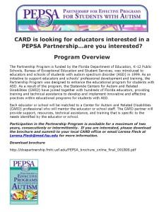 PEPSA recruitment flyer