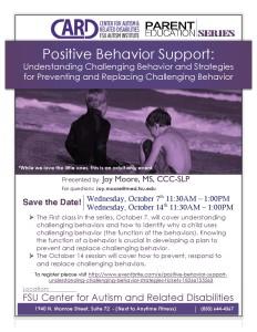 Pos Behavior Supp