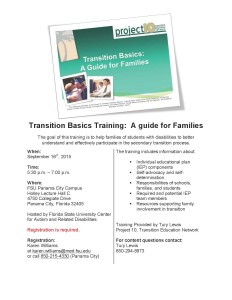 Transition Basics Flyer - 9.16PC