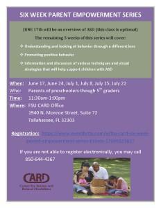 Parent Empowerment Training