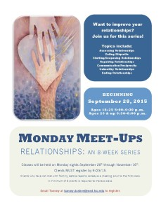 Monday Meet-ups_Relationships Training