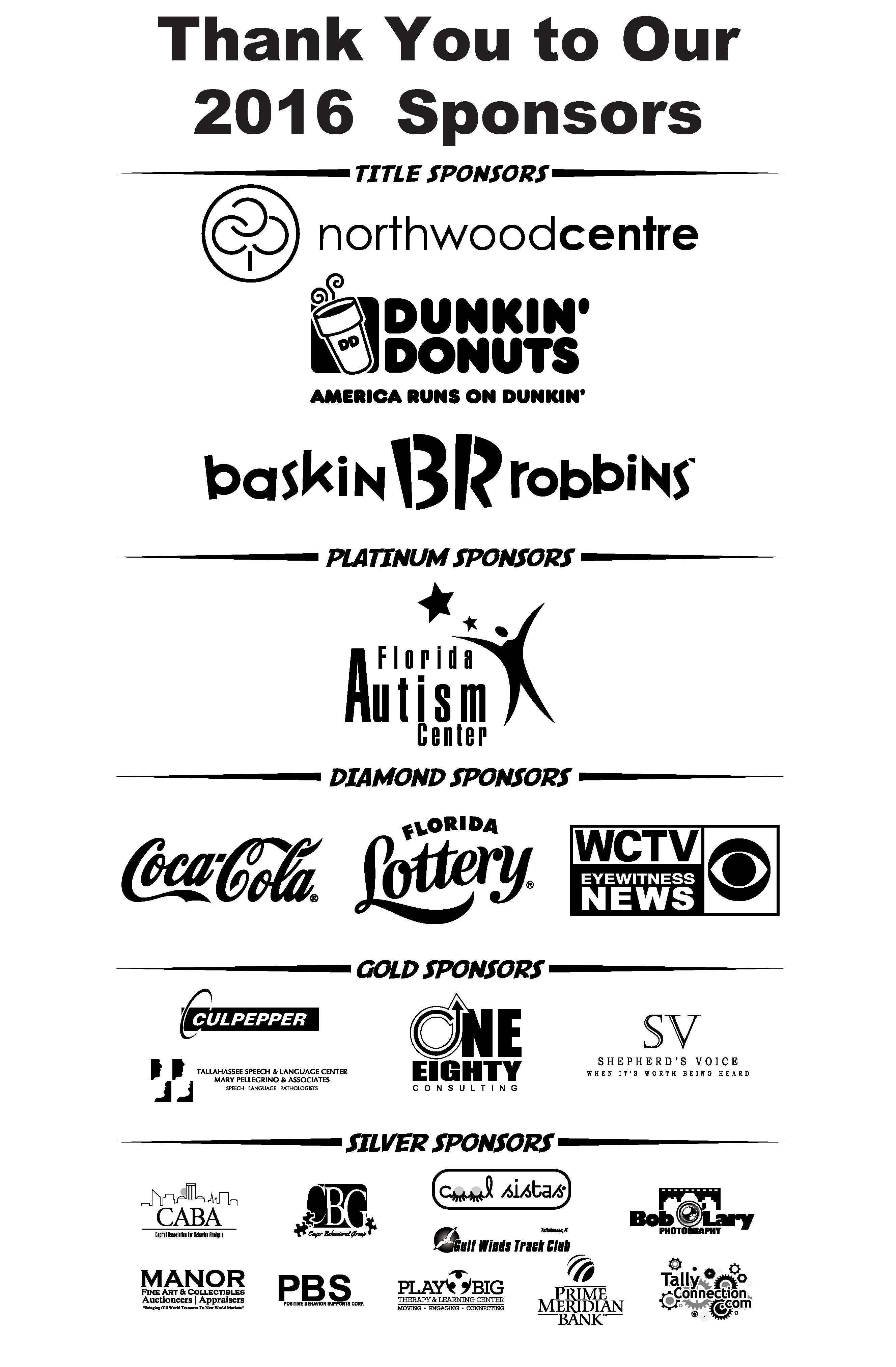 2016 5k sponsors