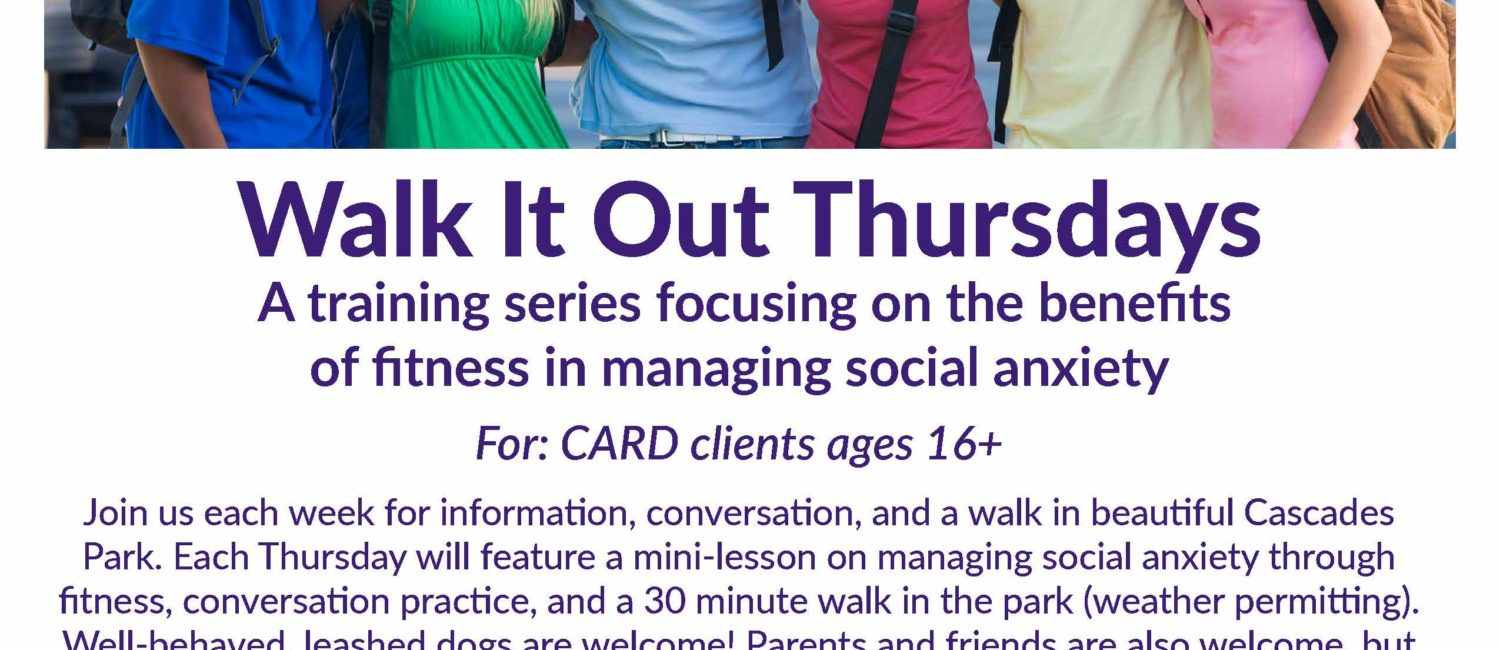 Walk It Out Thursdays